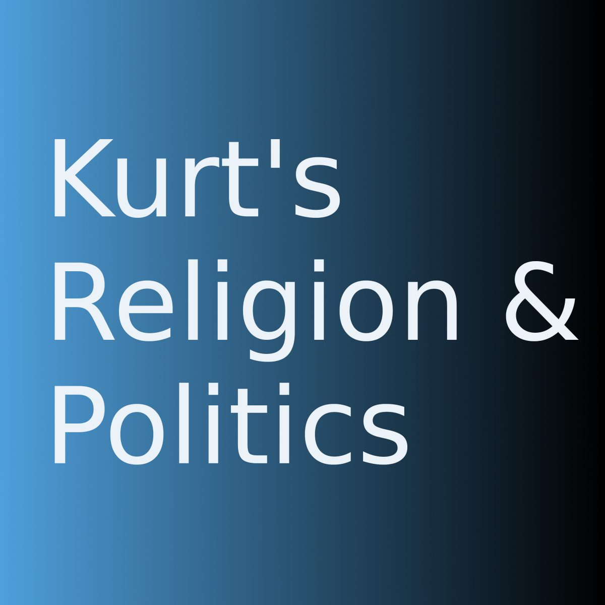 Kurt's Religion and Politics